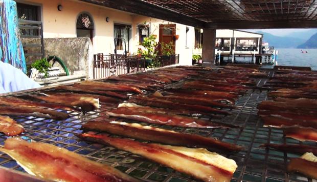 La Sardina essiccata del lago di Iseo, una tradizione millenaria
