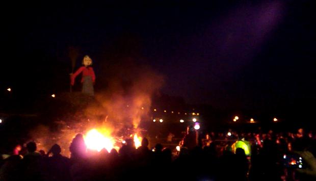 Nel varesotto torna la Gioeubia, l'antico rito della strega bruciata