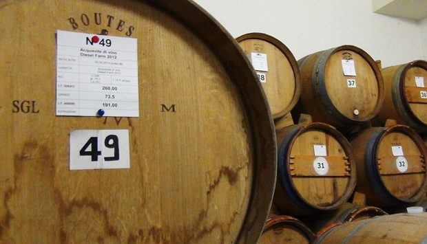 L'invecchiamento dei distillati di Capovilla
