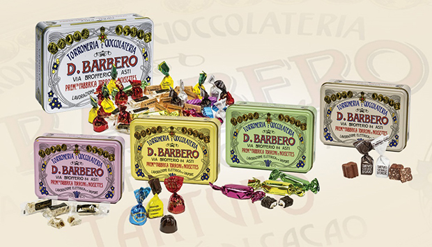 Quei cioccolati e torroni da leggenda di Barbero, in Asti dal 1883