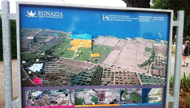 Museo e Parco archeologico di Egnazia, memorie sulle acque di Fasano (BR)
