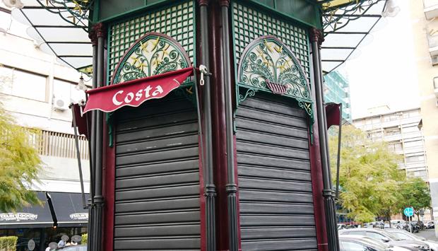 Il chiosco Costa a Catania, il più antico è anche il migliore