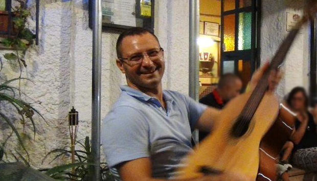 Canzoni popolari calabresi di Trichilo alla Trattoria U Ricriju, Siderno