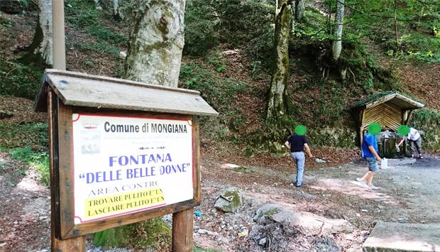 La Fontana delle Belle Donne a Mongiana, nel Parco delle Serre calabresi