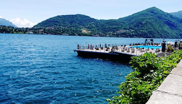 Ristorante Riviera sul Lago di Como, cortesia e menu figlio del turismo