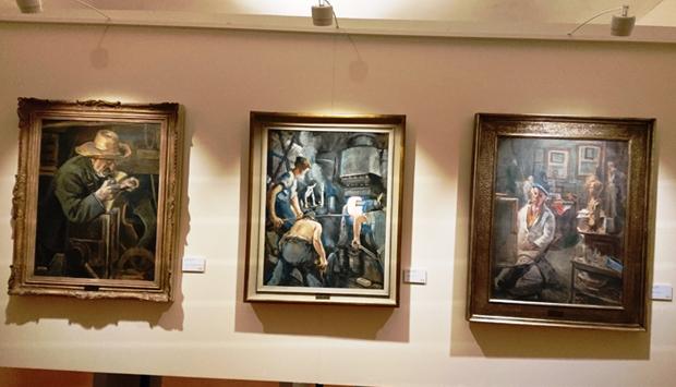 Collezione Verzocchi a Forlì, capolavori d'arte nati da impresa e Lavoro