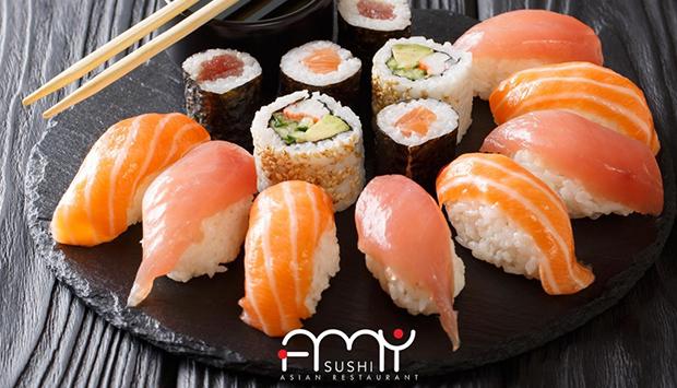 Amy Sushi, cucina orientale di qualità anche a domicilio