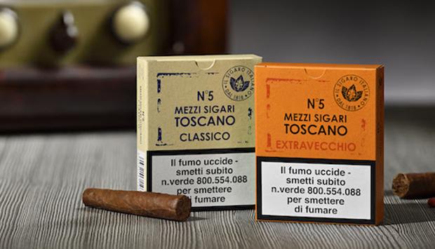 L'importanza della stagionatura nei nuovi sigari ammezzati Toscano