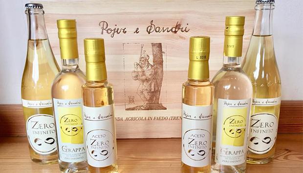 Zero Infinito di Pojer e Sandri: vini, grappa e aceto da uve resistenti