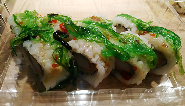 Miya a Busto Arsizio, sushi medio e pessimo servizio Deliveroo